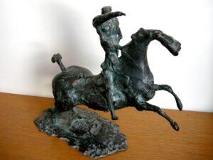 Cavaliere della tavola rotonda, bronzo 1956