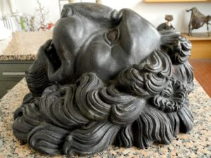 Fontana testa di leone
