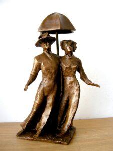 Giacomo Maria Cavina-Danzando sotto la pioggia