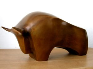 Hans Adolf Pierre Schumann-toro con corna
