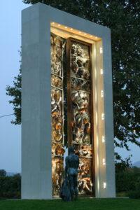 Ianua Mundi, Parco della Gima Zola Predosa (BO) 2006, Scultore Luigi E Mattei