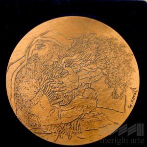 Medaglia L'ultimo covone - FAO, ROMA