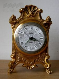 Orologio ottone cm10x15